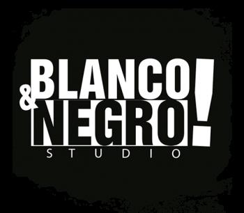 logo blanco y negro studio