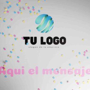 plantilla de video para logo